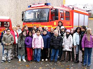 Besuch der 4. Klasse der Schule Bonhoefferstrasse.